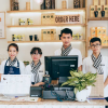 Đồng phục quán cafe