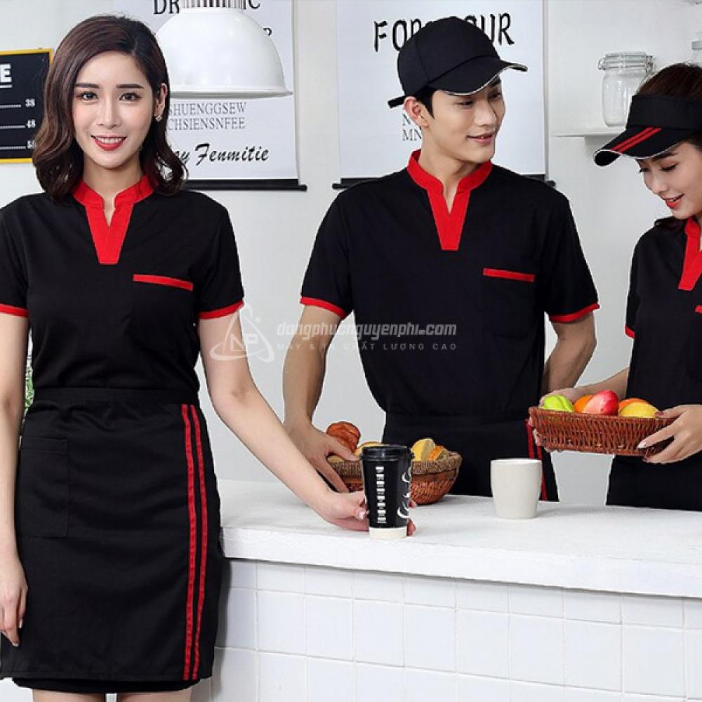 Đồng phục quán cafe-Đồng phục Coffee Shop mẫu 3