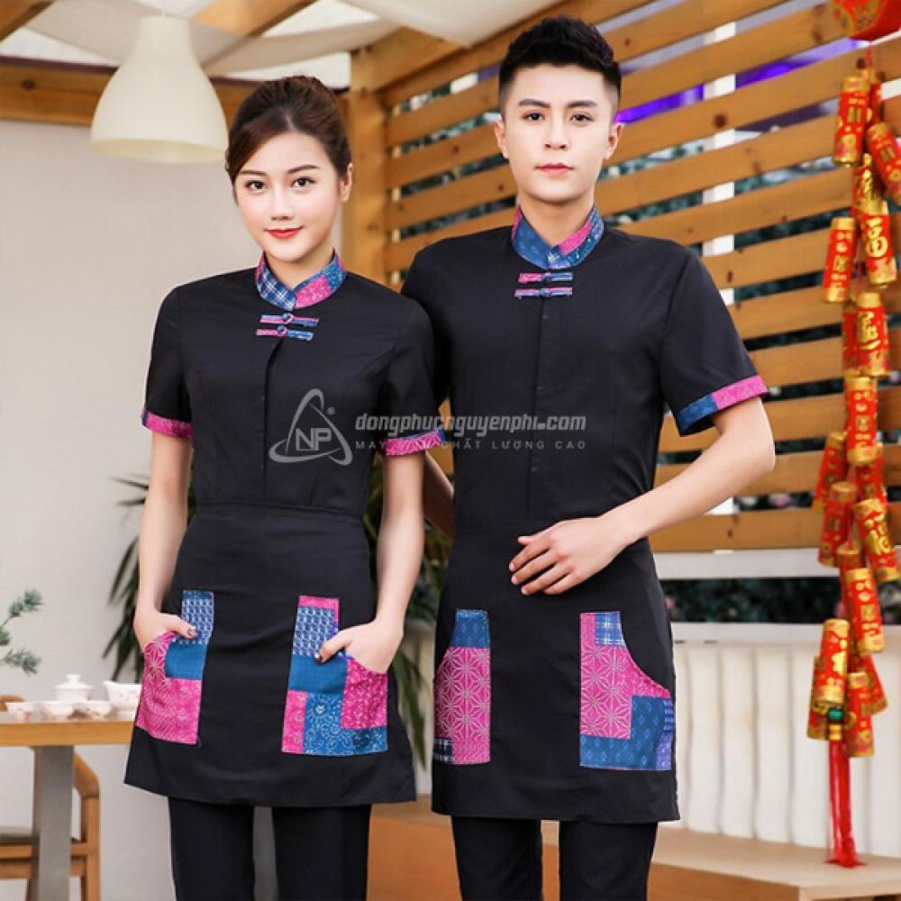 Đồng phục nhà hàng khách sạn -Đồng phục nhà hàng mẫu 3