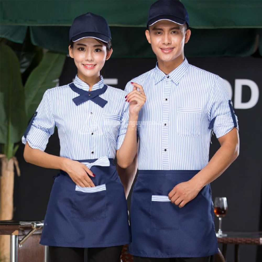 Đồng phục nhà hàng khách sạn -Đồng phục nhà hàng mẫu 6