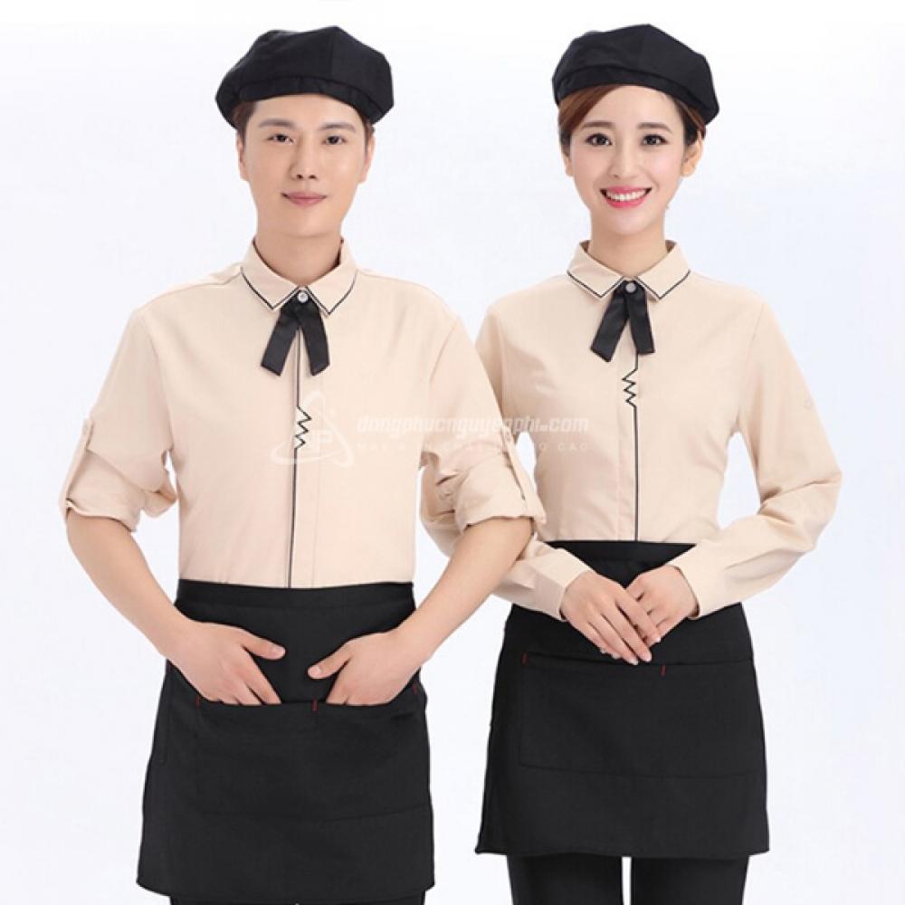 Đồng phục nhà hàng khách sạn -Đồng phục nhà hàng mẫu 8