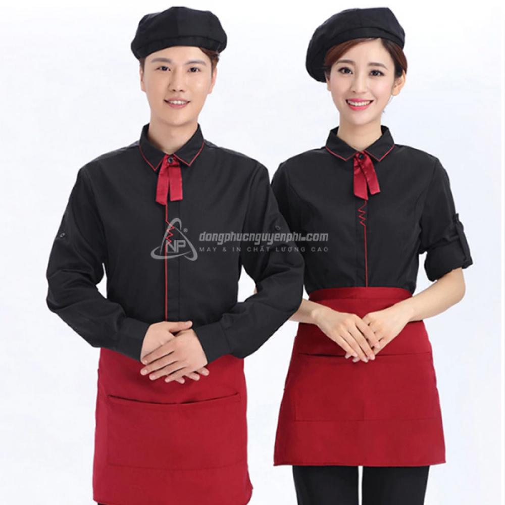 Đồng phục nhà hàng khách sạn -Đồng phục nhà hàng mẫu 9