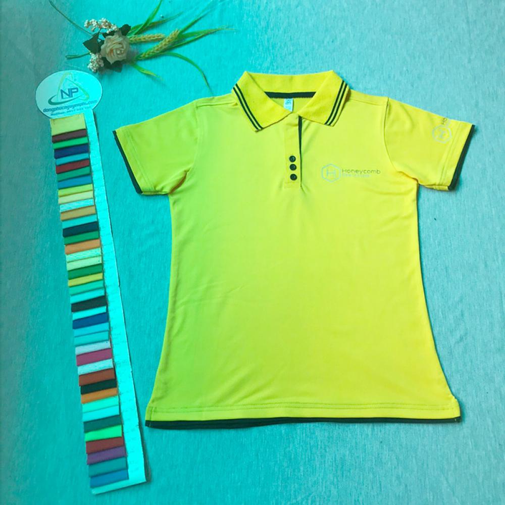 Đồng phục công ty-Đồng phục áo thun công ty HoneyComb