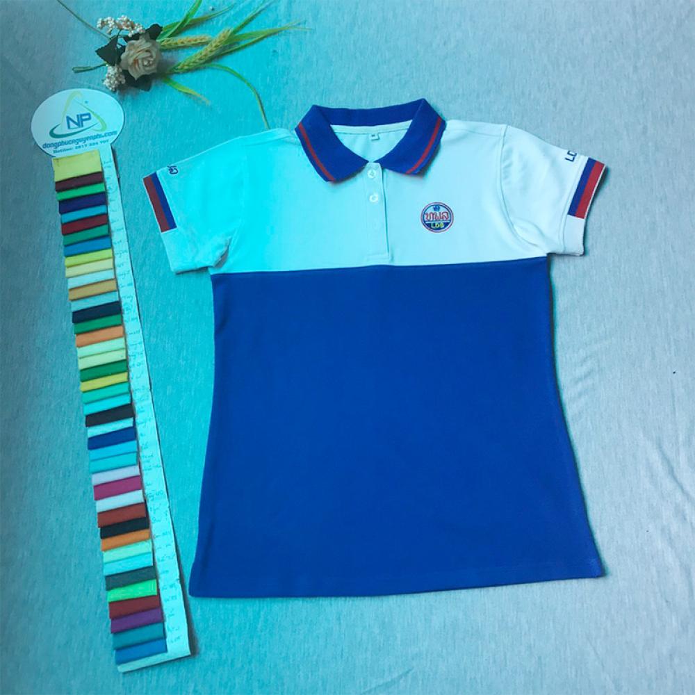 Đồng phục công ty-Đồng phục áo thun xuất khẩu đi Lào