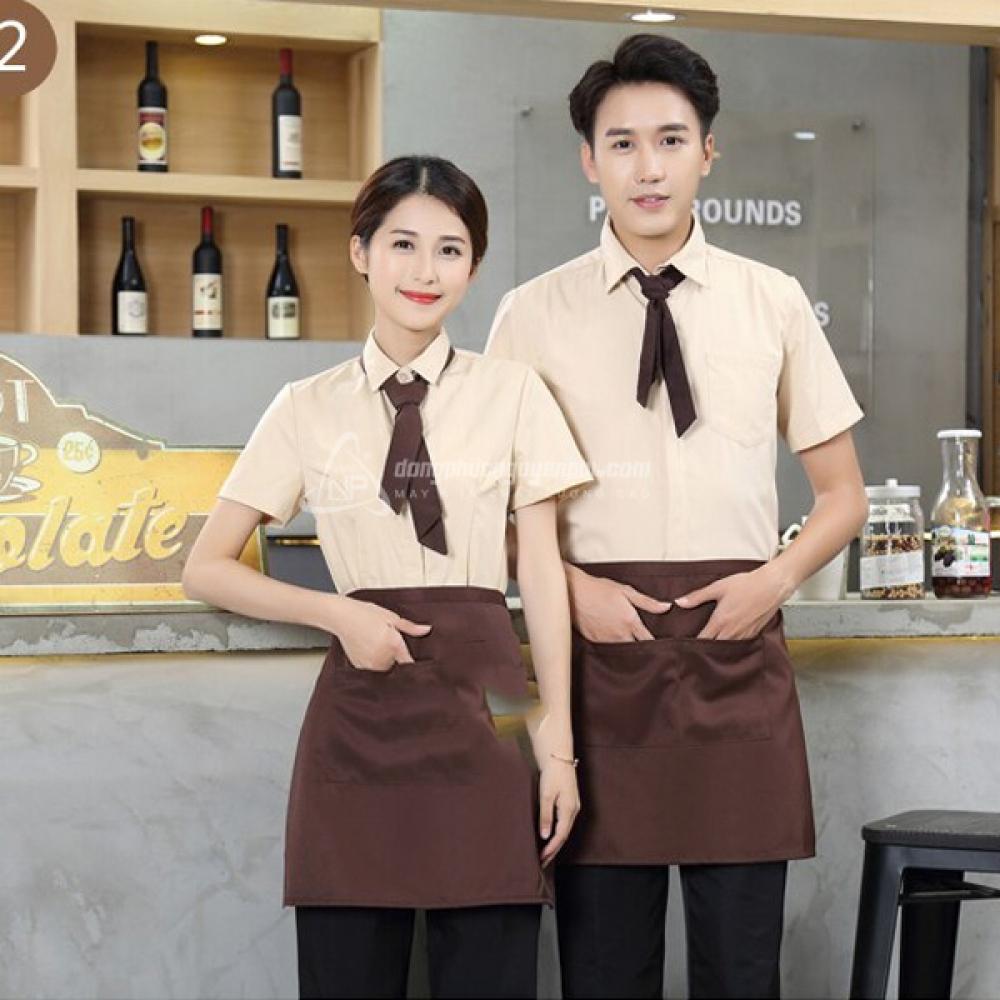 Đồng phục nhà hàng khách sạn -Đồng phục nhà hàng mẫu 2