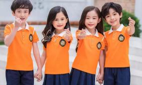 Ba chất liệu vải thông dụng thường xuyên may áo thun đồng phục trẻ em