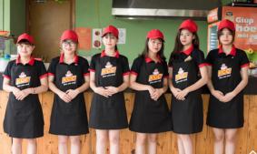Tư vấn đặt may đồng phục cho quán cafe nhà hàng
